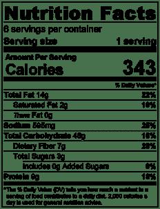 Whole Grain Salad Nutrition Info
