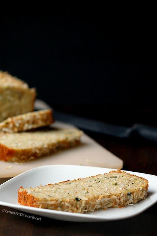 Coconut Lime Zucchini Bread