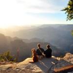 Camping at the Grand Canyon, Arizona
