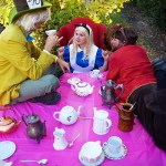 Alice in Wonderland Cosplay in Hanford, California