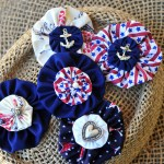 Navy Themed Patriotic Lapel Pins