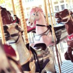 The Allan Herschell Carousel in Hanford, CA