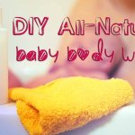 DIY All-Natural Baby Body Wash