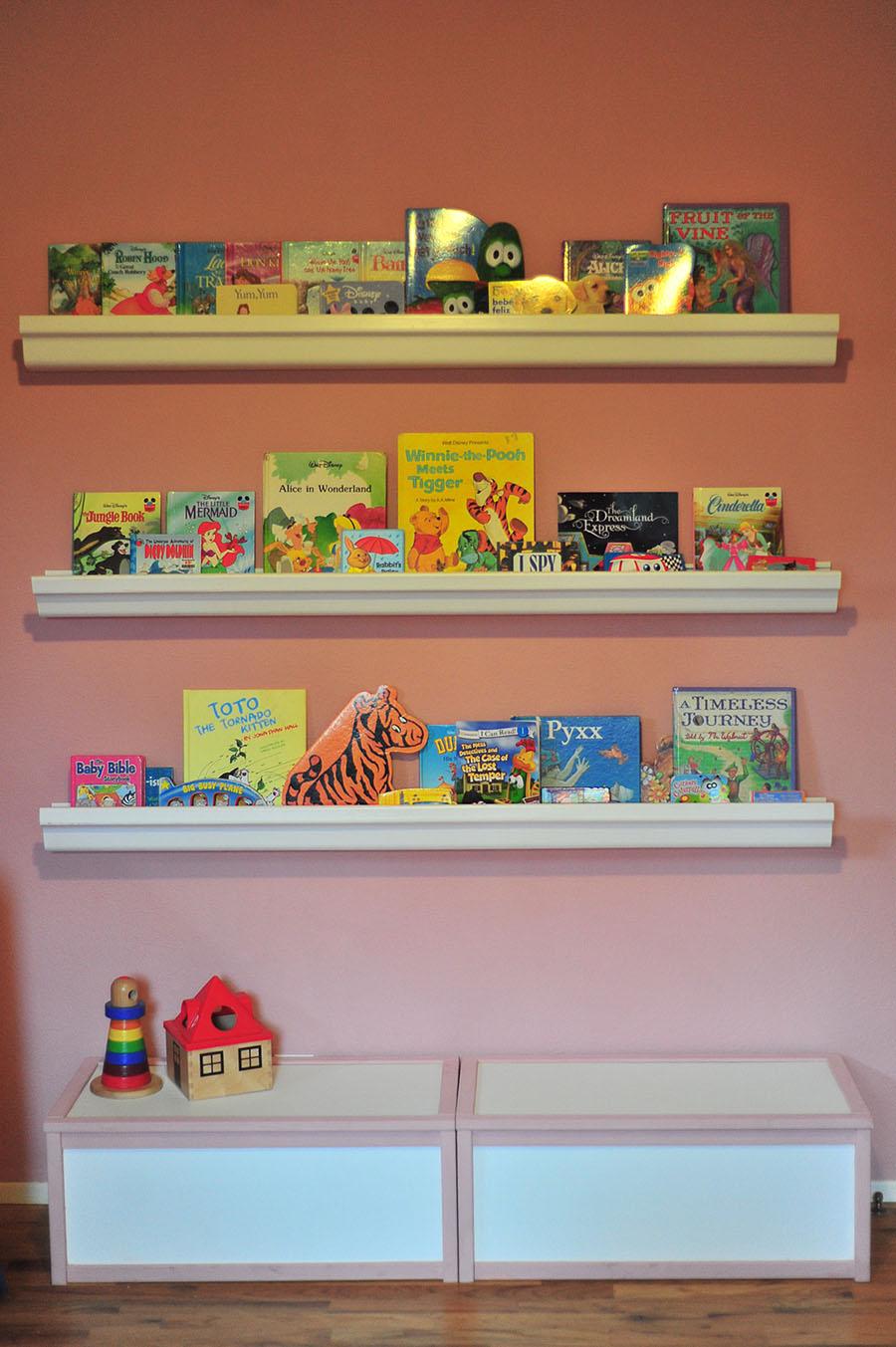 Diy Rain Gutter Bookshelves For Under 10 Domestic
