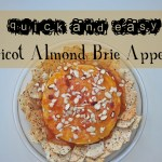 Quick and Easy Apricot Almond Brie Appetizer