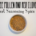 Bee Pollen and Red Clover Dessert Seasoning Spice Mix