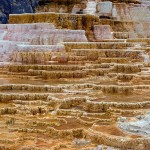 Mammoth Hot Springs in Yellowstone, Wyoming