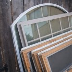 Collecting Old Windows and Glass for a Straw Bale Greenhouse