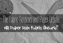 The Fabric Scissors and Paper Debate – Will Paper Ruin Fabric Shears?