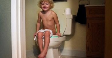 Potty Training Toddlers with IllumiBowl the Toilet Night Light