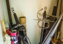 Easy DIY Cosplay Sword and Prop Storage