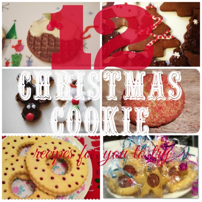 12 Christmas cookies for you to try