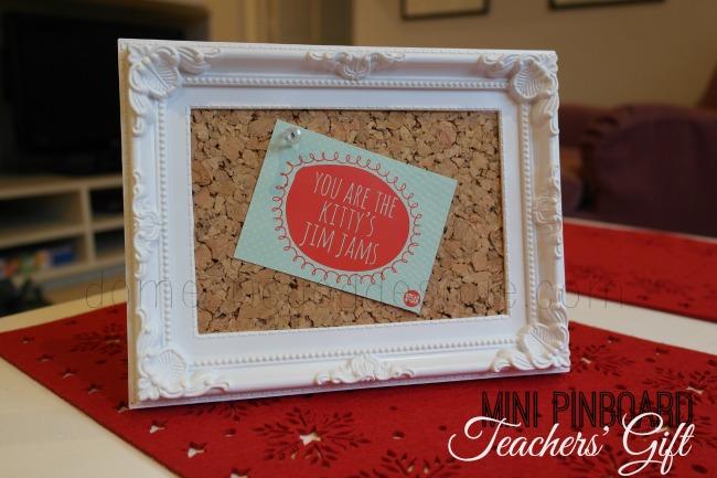 Mini Pinboard Teachers' Appreciation Gift