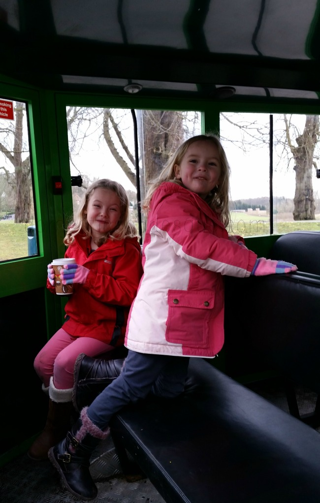 Leeds castle road train