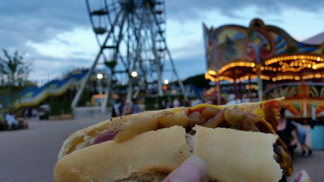 Dreamland Margate hotdogs carousel ferris wheel (c) Domestic Goddesque