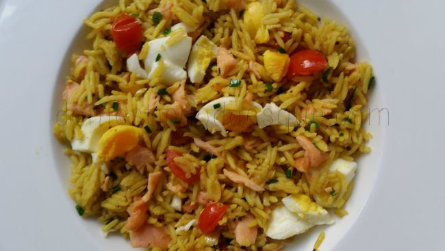 very quick kedgeree