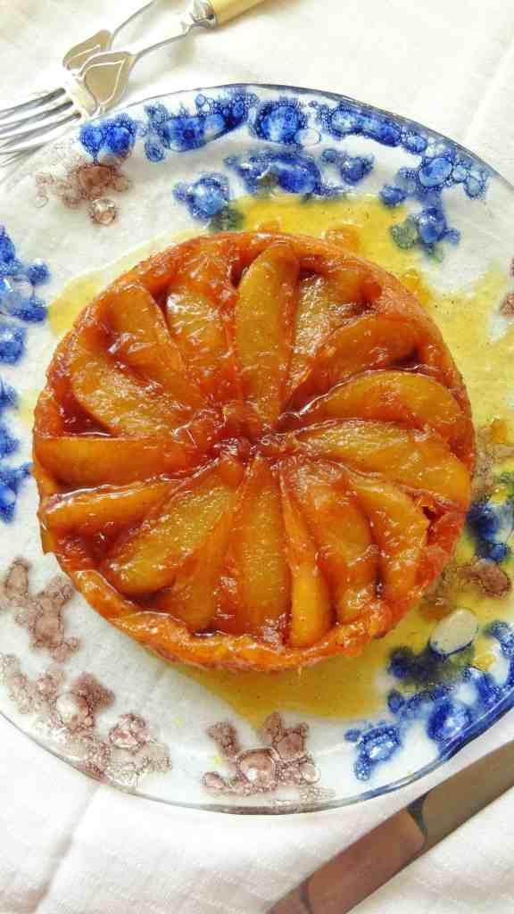 pear and ginger tart tatin