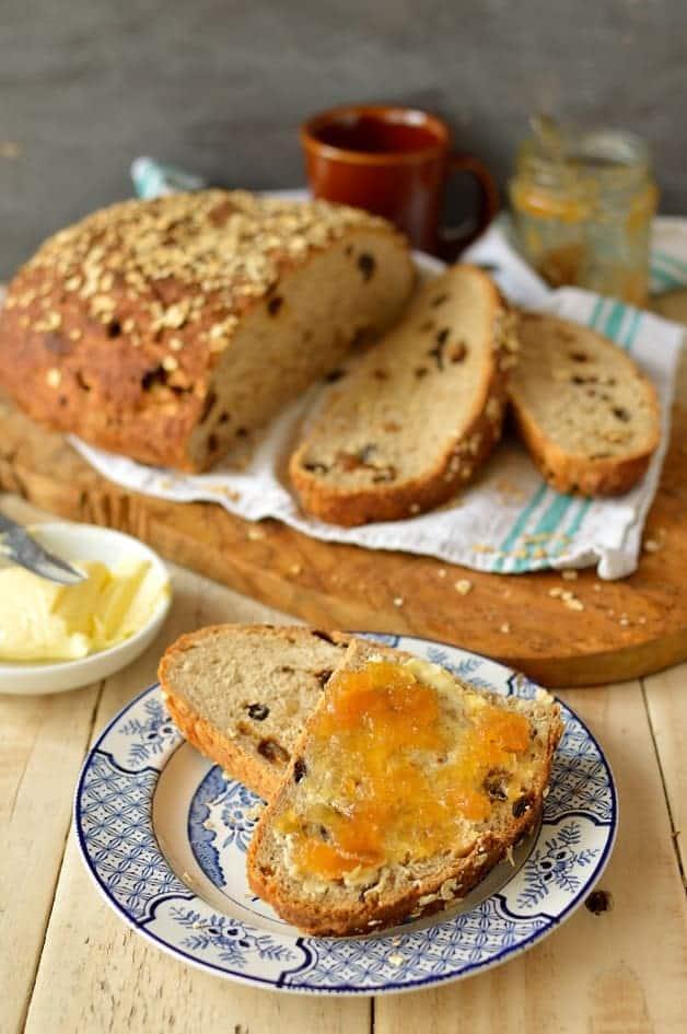 Muesli bread, the perfect healthy, filling breakfast - Domestic Gothess