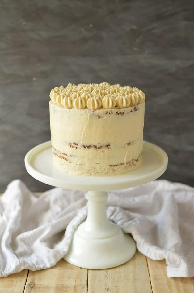 Very vanilla cake - Domestic Gothess