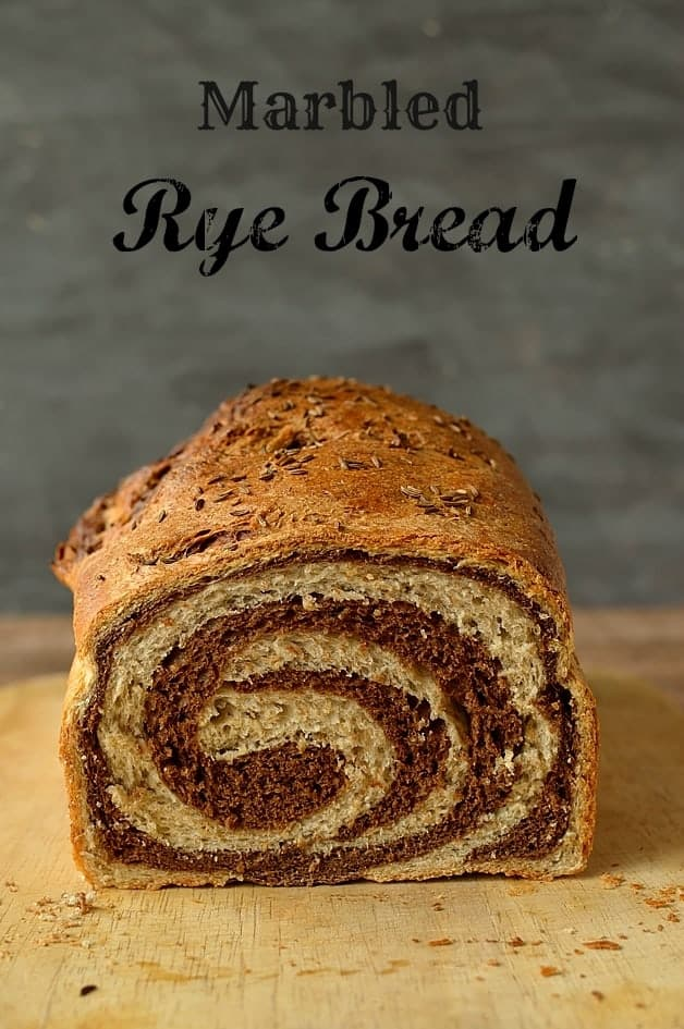 Marbled rye bread recipe - Domestic Gothess