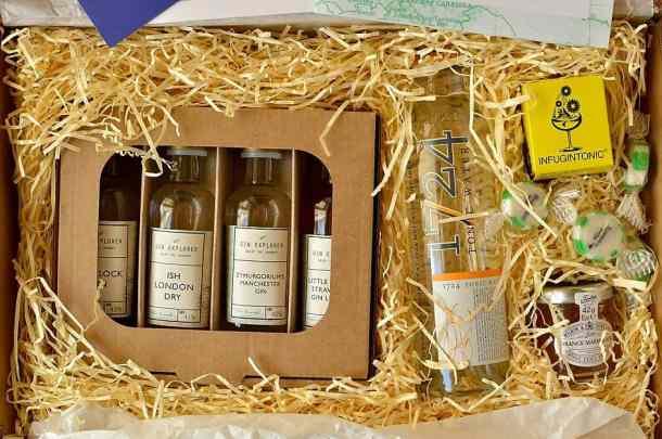 Gin explorer april box
