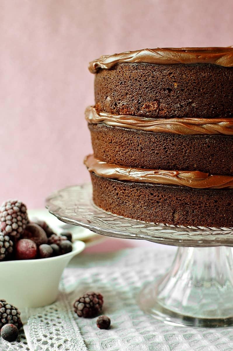 My Favourite Chocolate Layer Cake Domestic Gothess