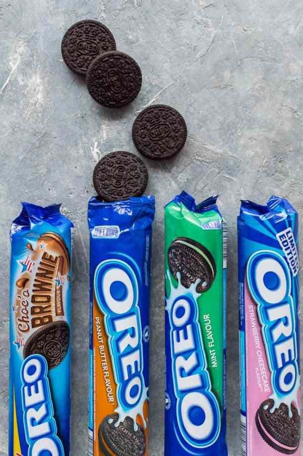 Oreo flavours range