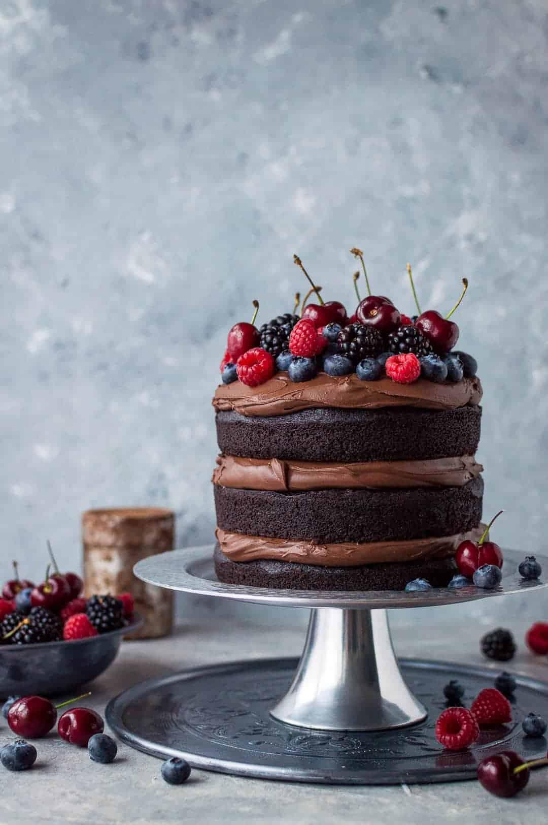 Vegan Chocolate Fudge Cake Domestic Gothess