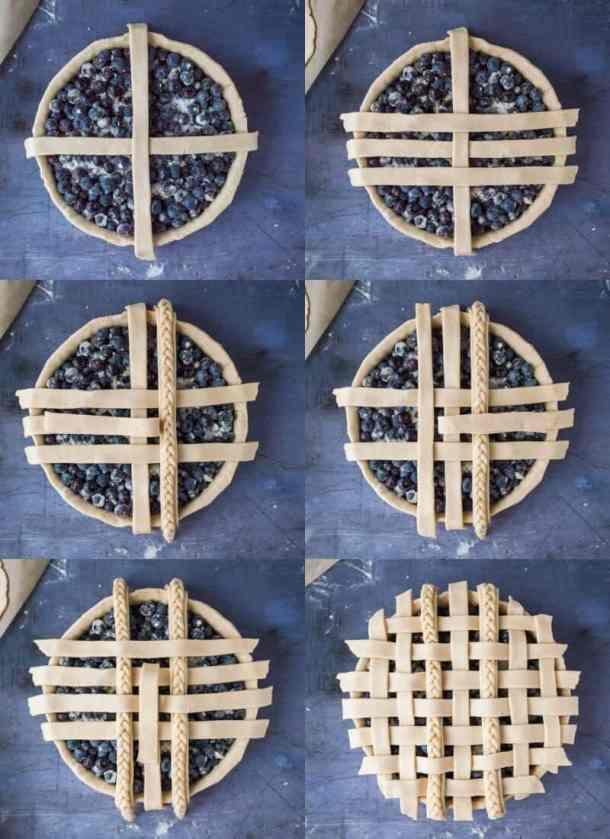 lattice crust step by step