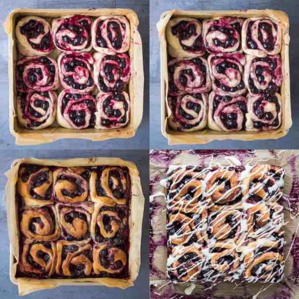 lemon blueberry rolls step 4