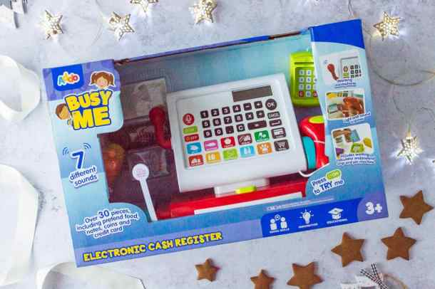 Busyme electronic cash register