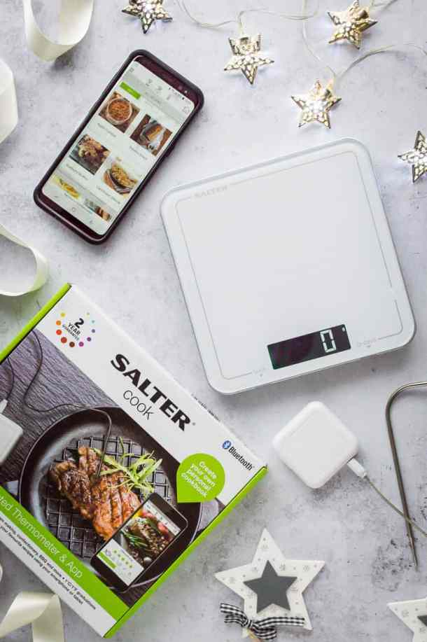 salter bluetooth scale and thermometer
