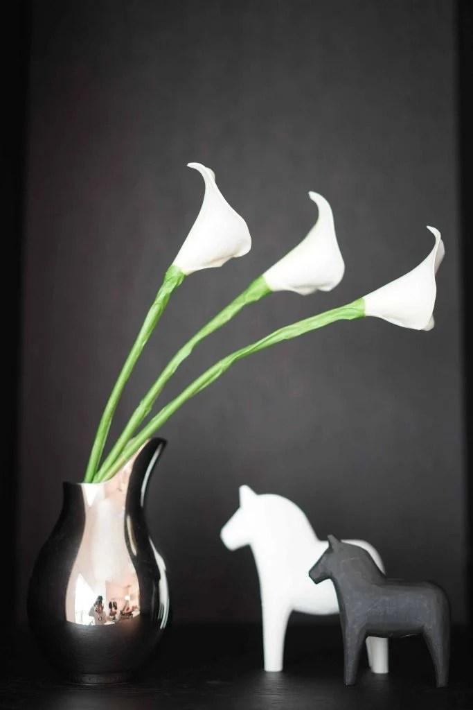DIY calla lily