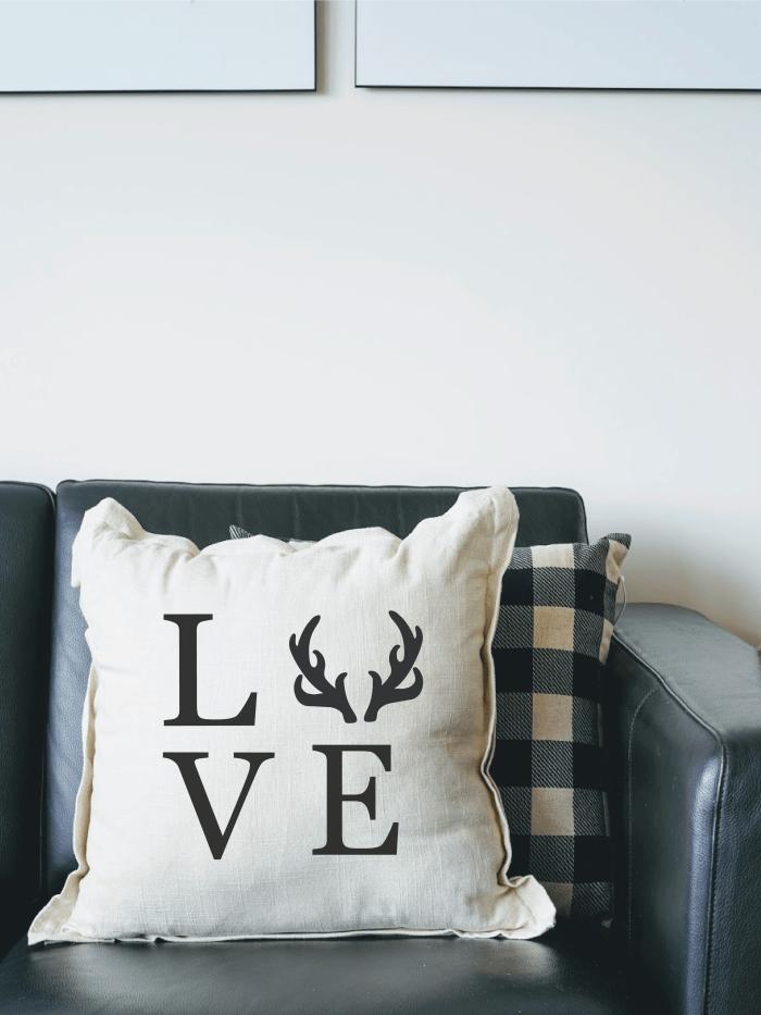 stencil on fabric