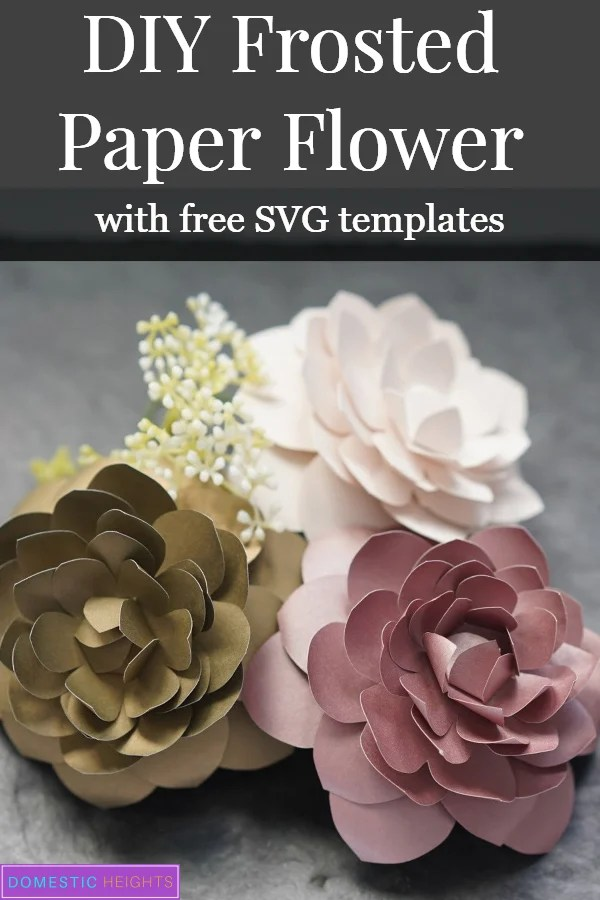 free paper flower templates