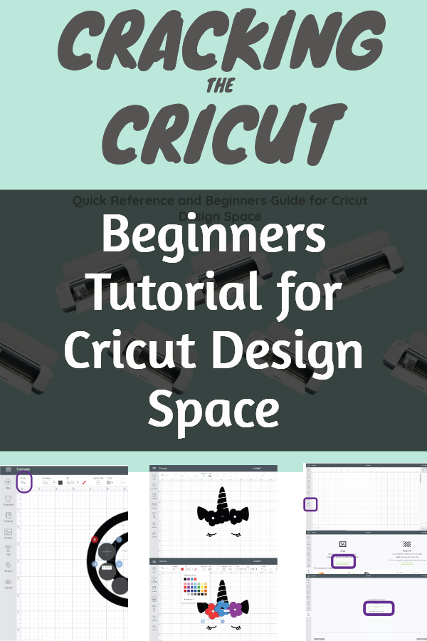 beginners tutorial to cricut design space