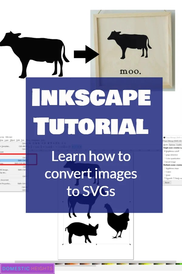 inkscape convert png to svg
