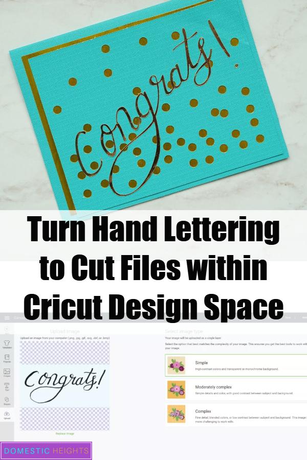 cricut beginners tutorial, free cricut design space tip, cricut card project