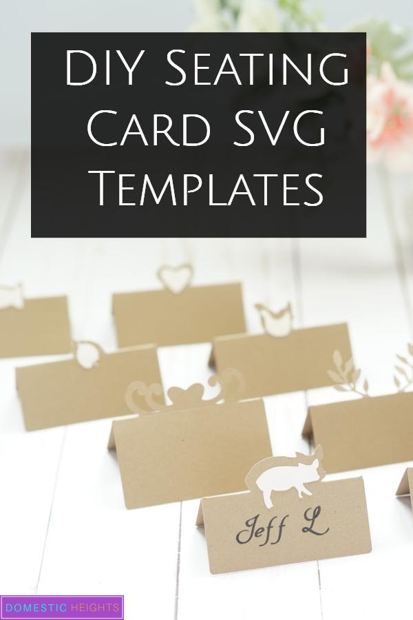diy cricut wedding idea with free svg cut file templates