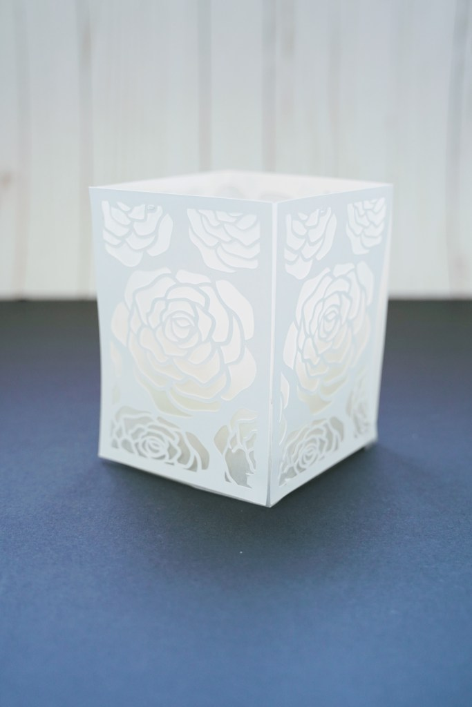 DIY paper luminary