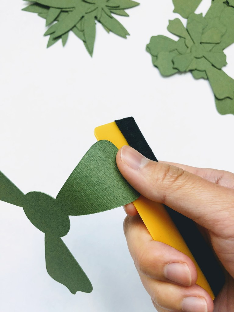 free succulent svg files, paper succulent template