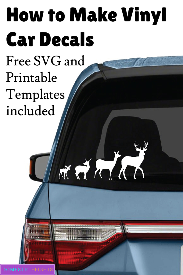 how to make car decals with cricut