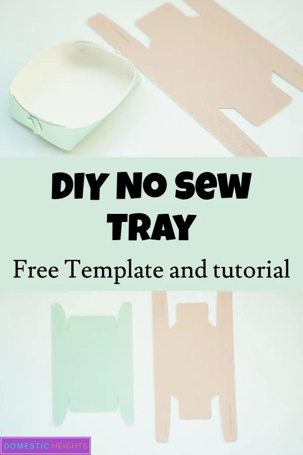 Handmade DIY tray