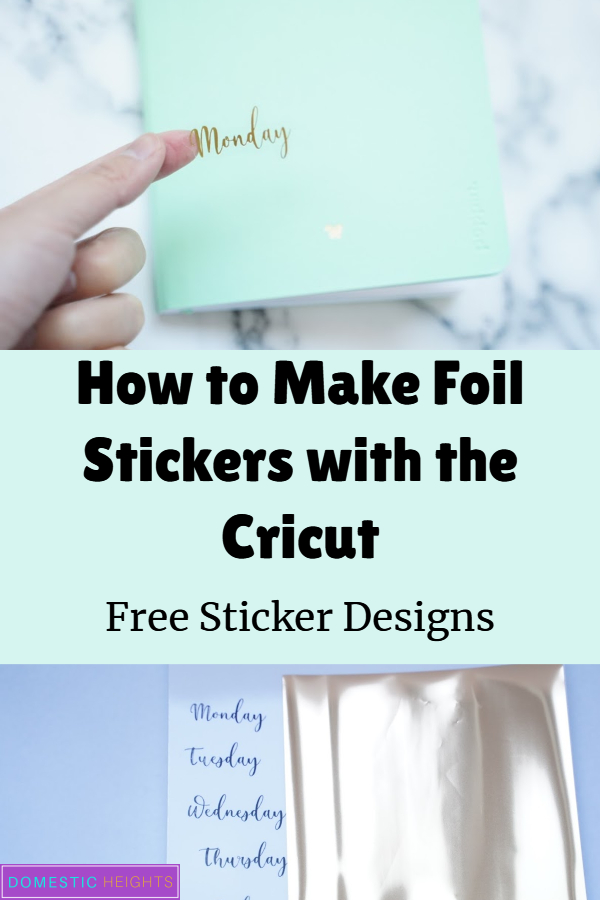 free cricut sticker ideas