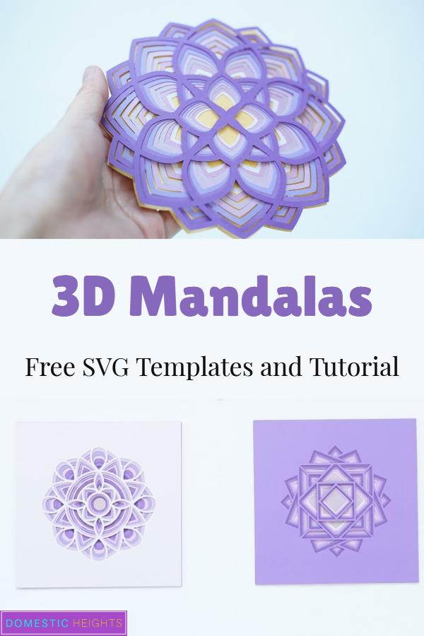 Free Layered Mandala Svg : layered, mandala, Layered, Mandala, DOMESTIC, HEIGHTS