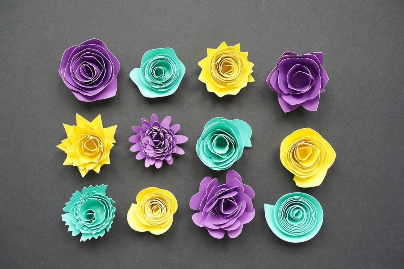 DIY Long Stemmed Paper Rose | 870x1305