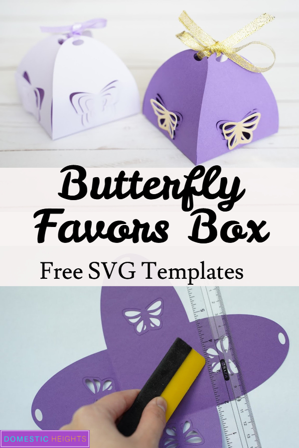 butterfly favors box