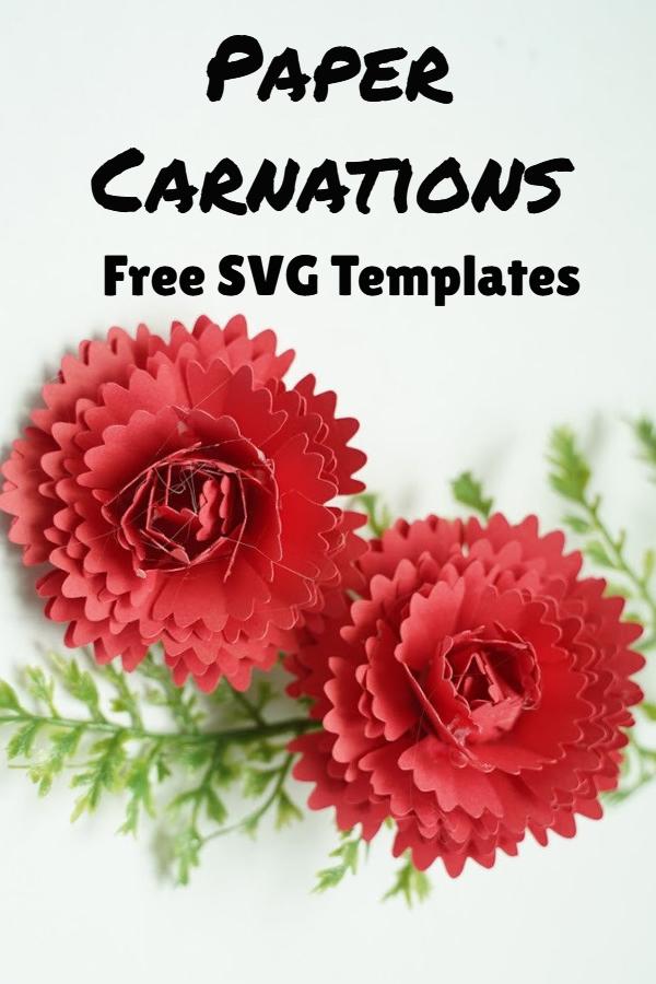 paper carnation flower