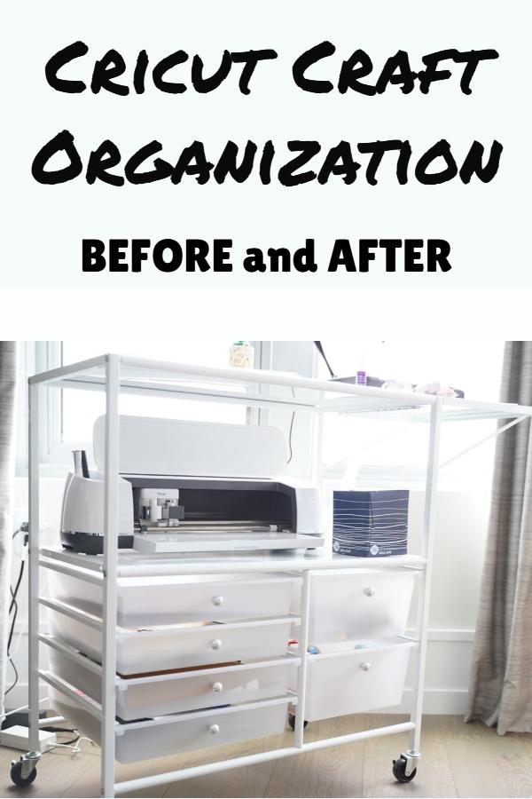 cricut organizer cart