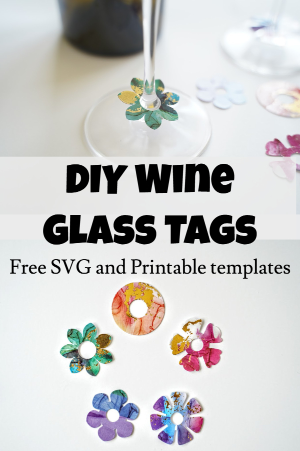 DIY wine charms and tags